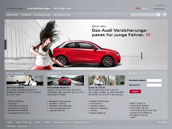 audibank.de website preview