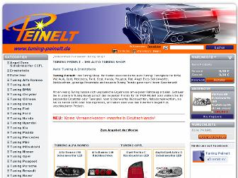 tuning-peinelt.de website preview