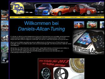 daniels-allcar-tuning.de website preview