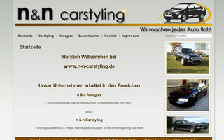n-n-carstyling.de website preview