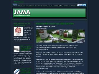 jama-autoteile.de website preview