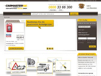 carmaster.de website preview