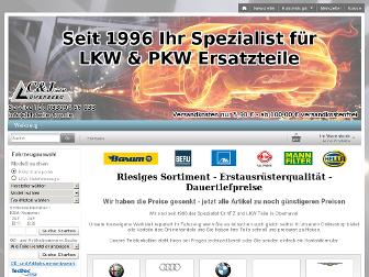 kfzteile-top.de website preview