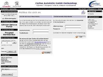 shop.certus-autoteile.de website preview