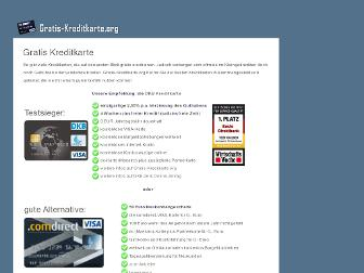 gratis-kreditkarte.org website preview