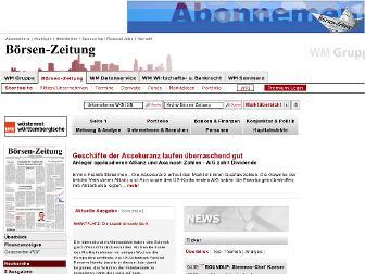 Www.Boersen-Zeitung.De
