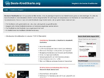beste-kreditkarte.org website preview