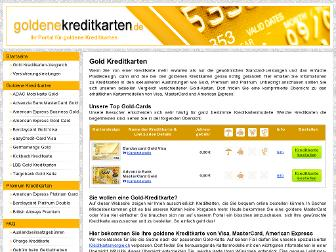 goldenekreditkarten.de website preview