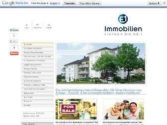e1-immobilien.de website preview