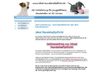ideal-hundehaftpflicht.de website preview