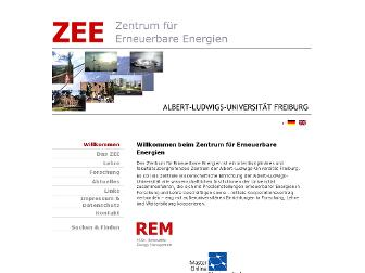 zee-uni-freiburg.de website preview