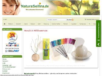 naturasellina.de website preview