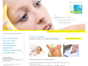beauty-moments-leutkirch.de website preview
