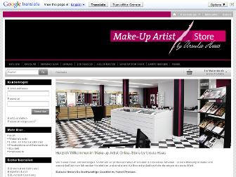 haas-make-up.de website preview