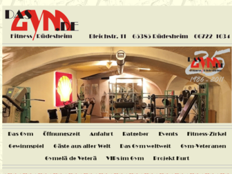 dasgym.de website preview