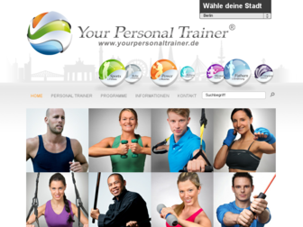 yourpersonaltrainer.de website preview