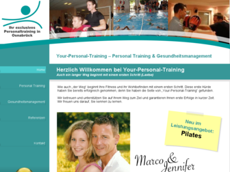 your-personal-training.de website preview