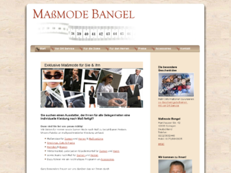 massmode-bangel.de website preview