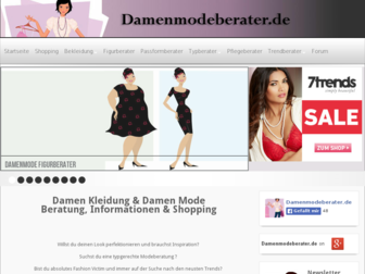 damenmodeberater.de website preview