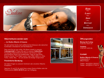nadine-waesche-dessous.de website preview