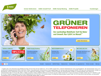 nabu-umwelt-tarif.de website preview