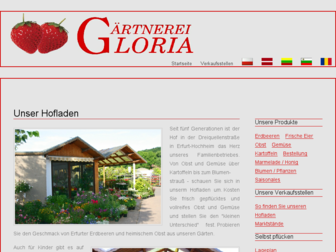 gaertnerei-gloria.de website preview