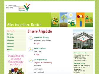 gaertnerei-starke.de website preview