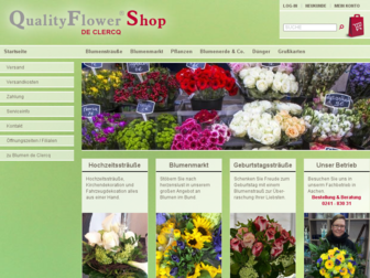 qualityflower.de website preview