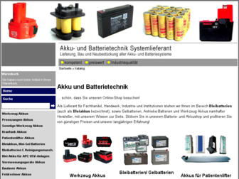 akkutechnik-ka.de website preview