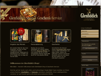 glenfiddich-geschenk.de website preview