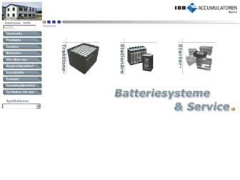 ibb-batterien.de website preview