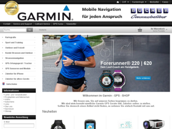 garminshop.ch website preview