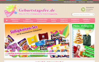 geburtstagsfee.de website preview