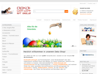 dekoheinz.de website preview