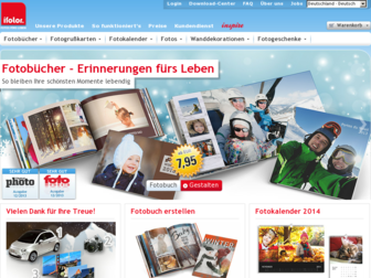 ifolor.de website preview