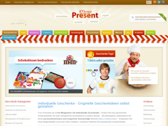 your-presents.de website preview