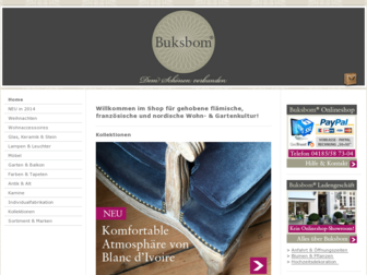 buksbom.de website preview