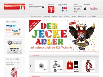 der-koelnshop.de website preview
