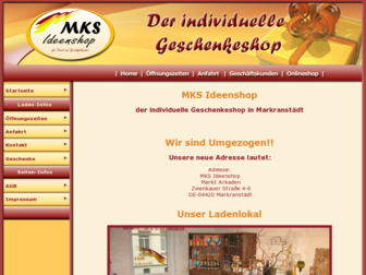 mks-ideenshop.de website preview