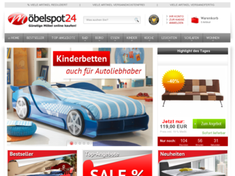 moebelspot24.de website preview