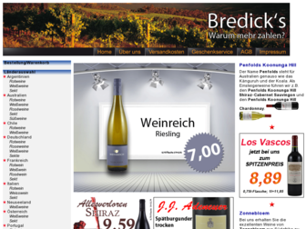 bredicks.de website preview
