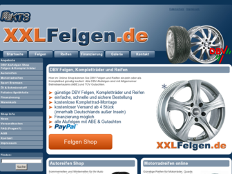 xxl-felgen.de website preview