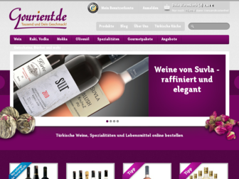 gourient.de website preview