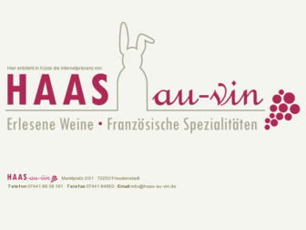 haas-au-vin.de website preview
