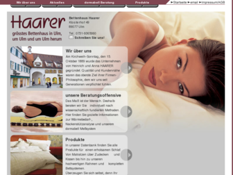 haarer.de website preview