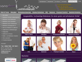 ich-schlafe-gut.de website preview