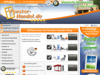 fensterhandel.de website preview