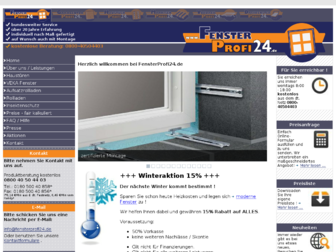 fensterprofi24.de website preview