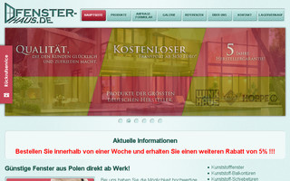 fenster-haus.de website preview