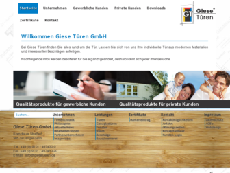 giesetueren.de website preview
